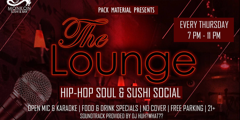 Pack Material presents: The Lounge