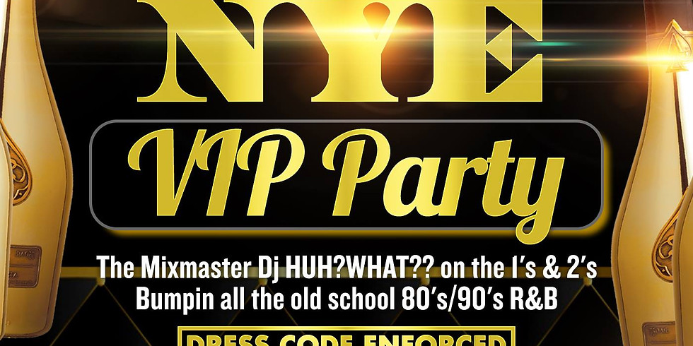 Flashback Entertainment presents: The NYE VIP Party