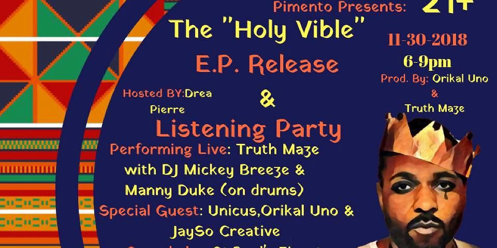 The Holy Vible EP Release & Listening Party