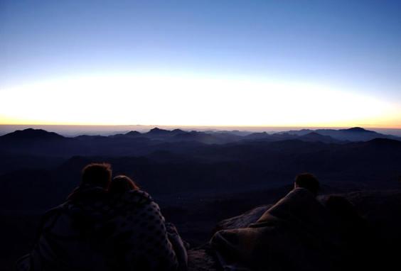 Summit of Mt. Sinai, Egypt