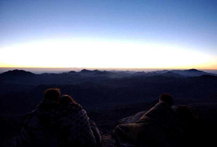 Summit of Mt. Sinai, Egypt