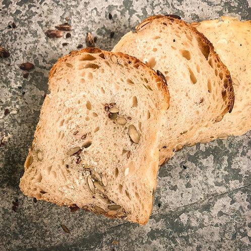 Seeded Sourdough Loaf
