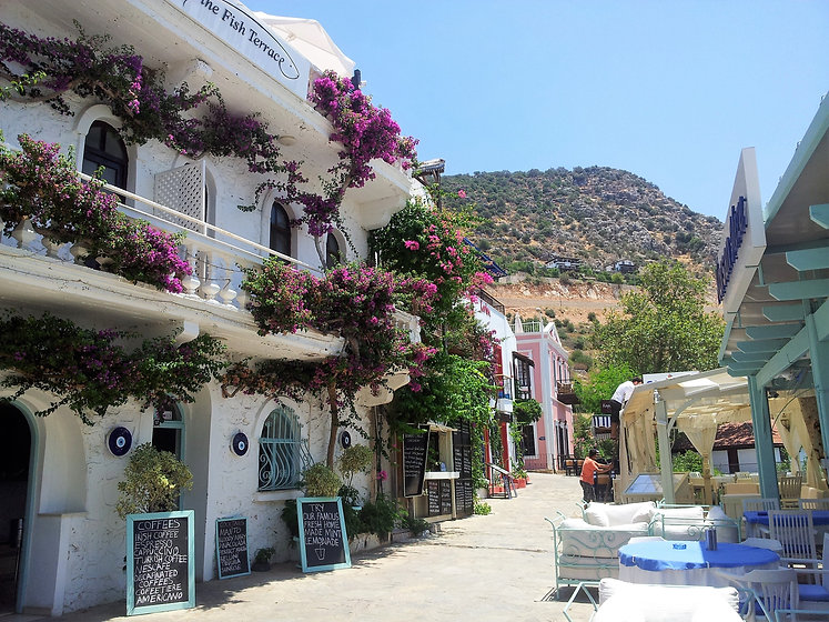 Sundream villas Kalkan, kalkan village