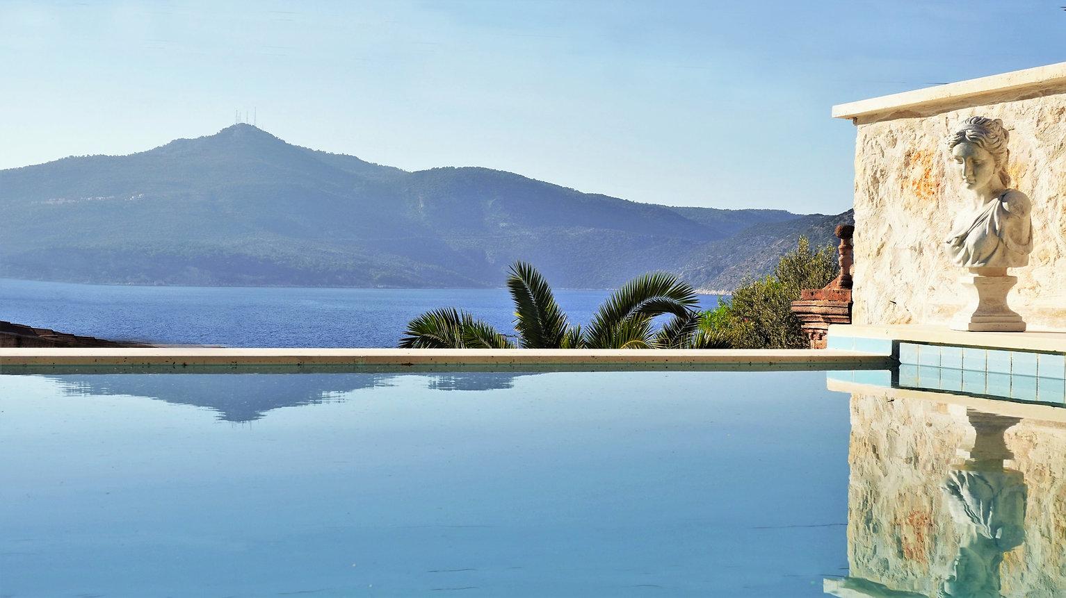 Sundream villas Kalkan seaside holiday rental