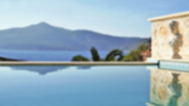 Sundream villas Kalkan seaside holiday rental
