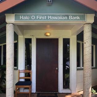 Hale O First Hawaiian Bank