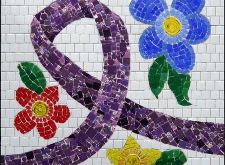 BRAMA Group Works on Domestic Violence Mosaics