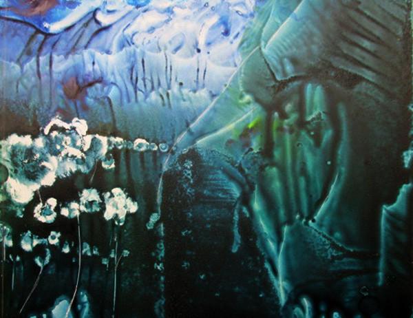"""""""Ocean Flowers"""", Leslie Santapaul"""