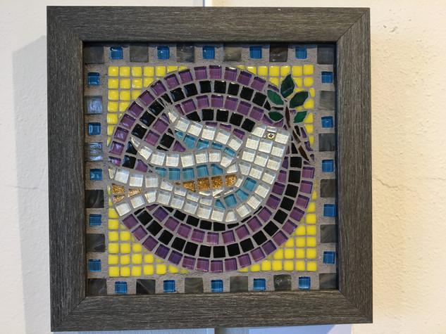 Sophie Adams, Dove, Mosaics Basics with Dotti Stone