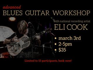 Advanced Blues Guitar Workshop