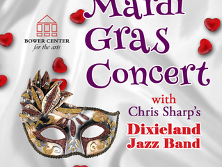 Mardi Gras Concert with Chris Sharp's Dixieland Jazz Band