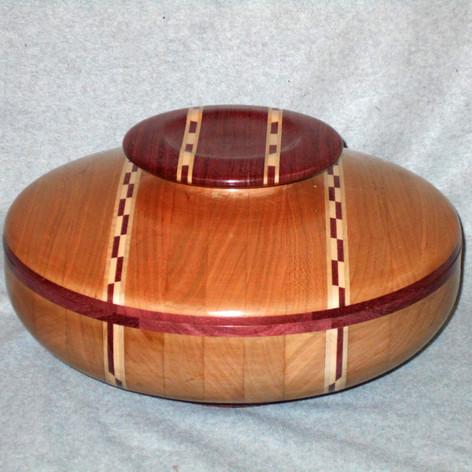 Lidded Bowl -George Radeschi