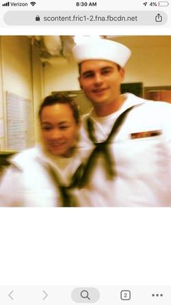US Navy Eric and Traci Scott