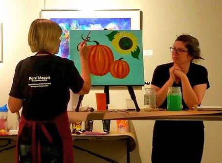 Social-Arting at Bower Center