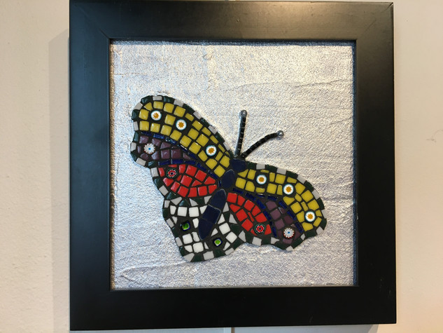 Sophie Adams, Butterfly, Mosaics Basics with Dotti Stone