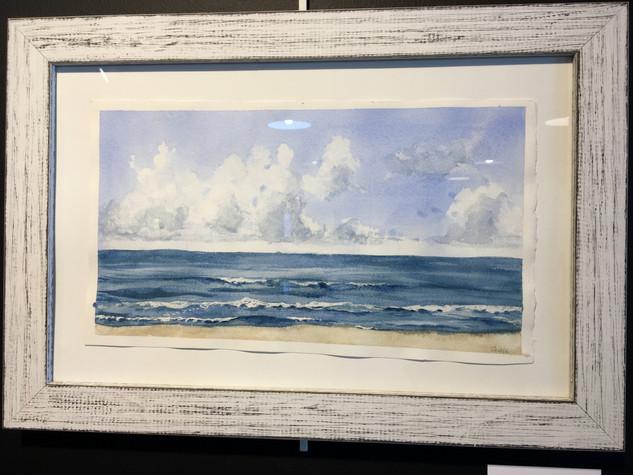 Suzanne Paddock, Sea, Watercolor with Perri Mason