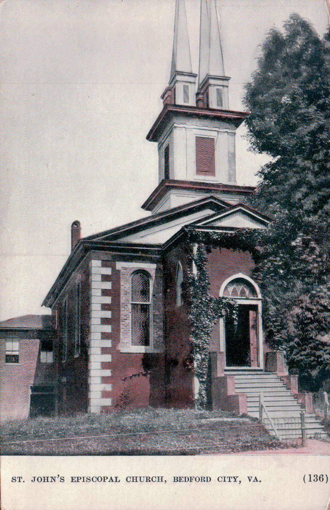 St Johns Episcopal Church c 1844
