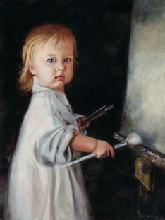 Brock, Whitney_121_Little_Artist_Oil_18x