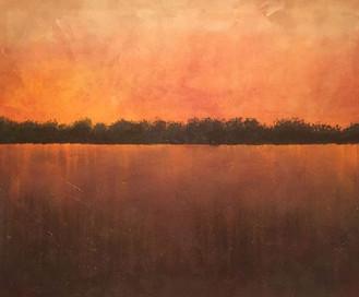 Voelker, Russ_193_Red Sunset_Oil_36x30.j