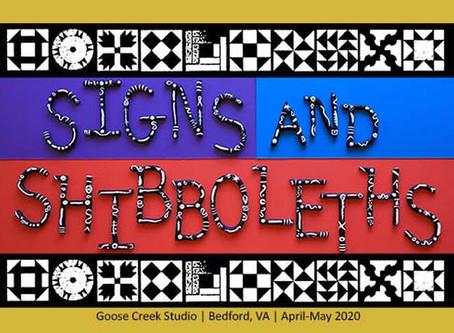 virtual exhibit: signs and shibboleths