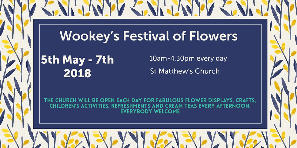 The Wookey Festival of Flowers