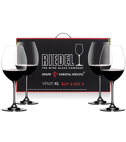 Riedel Vinum XL Syrah Wine Glasses Buy 3 Get 4 7416/41