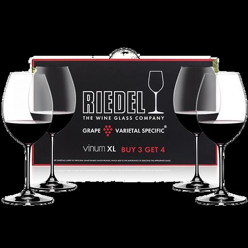 Riedel Vinum XL Syrah Wine Glasses Buy 3 Get 4 7416/41