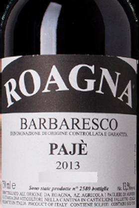 Roagna Barbaresco Pajé 2013
