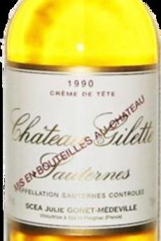 Château Gilette Crème de Tête Sauternes 1990