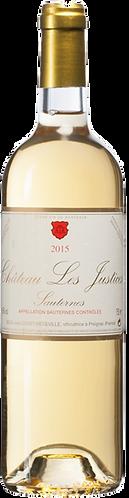 Château Les Justices Sauternes Gonet-Medeville 2015
