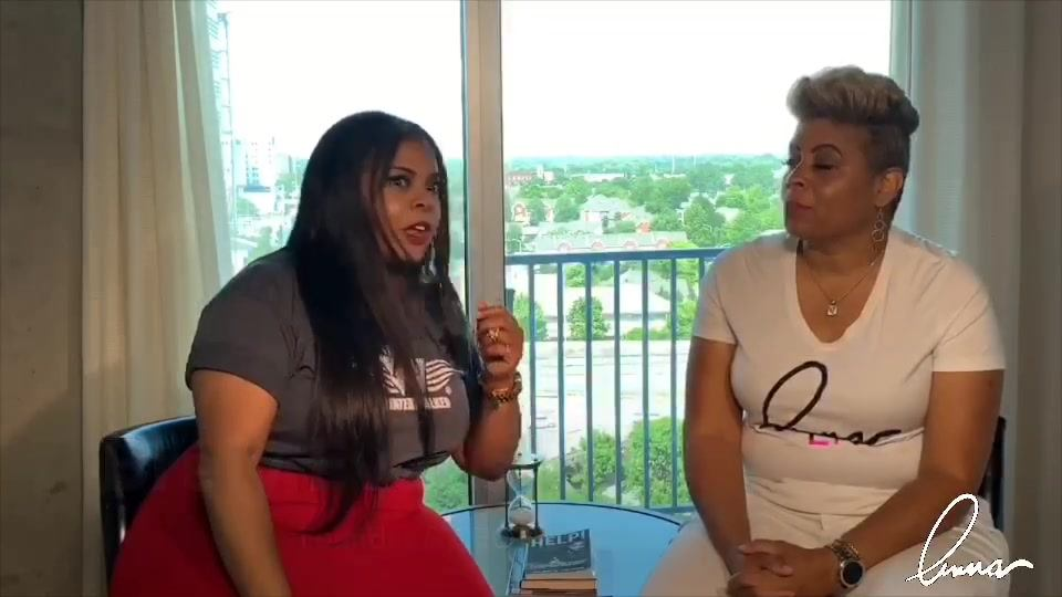 Anna McCoy talks with #OWN's #Ambitions, Brely Evans on Turning Your Purpose Into A Career