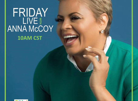 FRIDAY LIVE w/ ANNA McCOY
