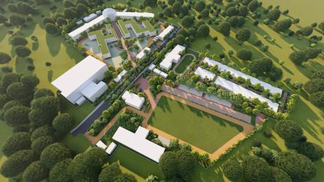 BD college masterplan   Koyna