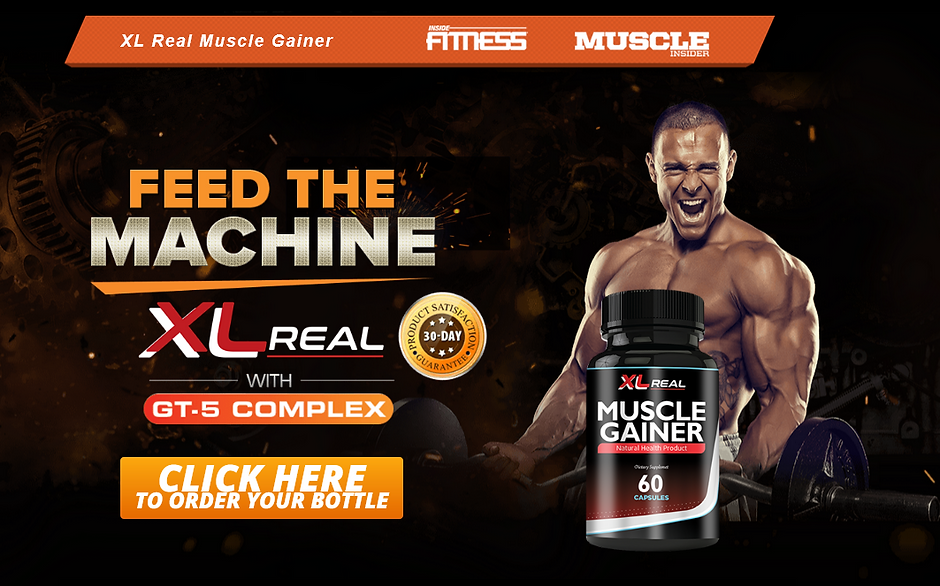XL Real Muscle Gainer Order Now