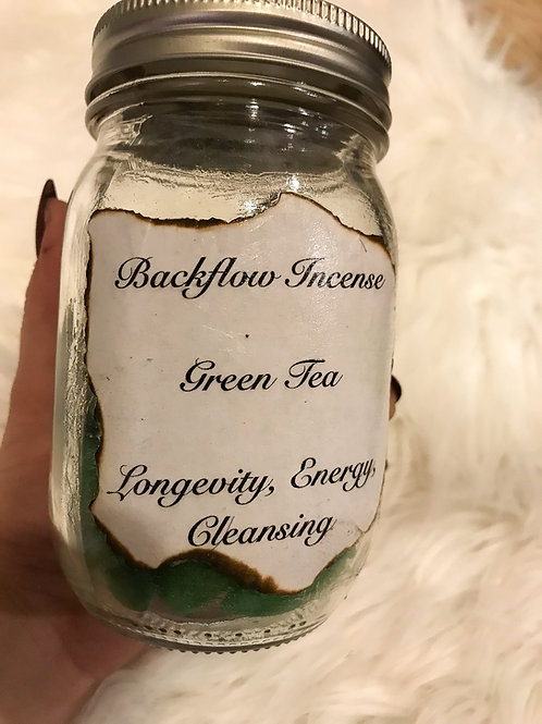 Backflow Incense - Green Tea