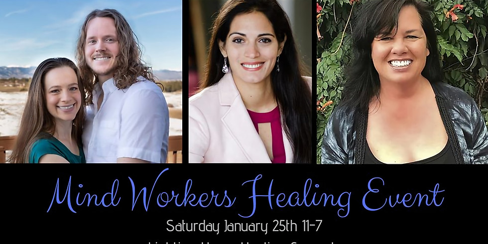 Mind Workers Healing Event