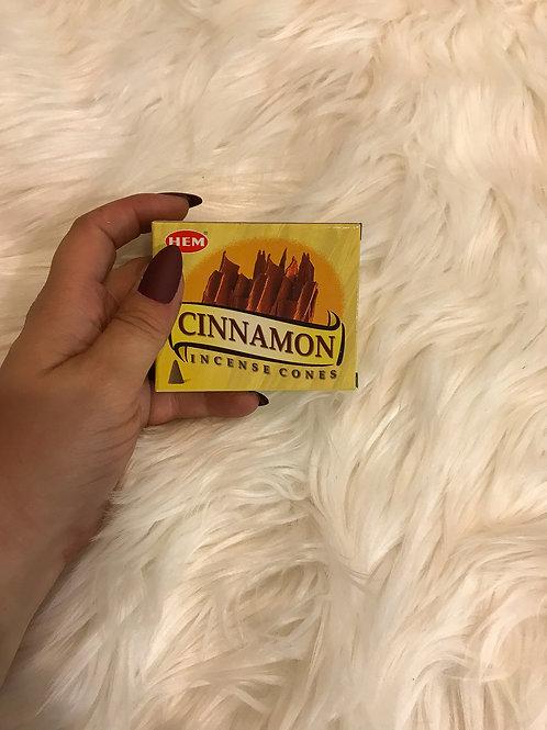 Hem Cone Incense - Cinnamon