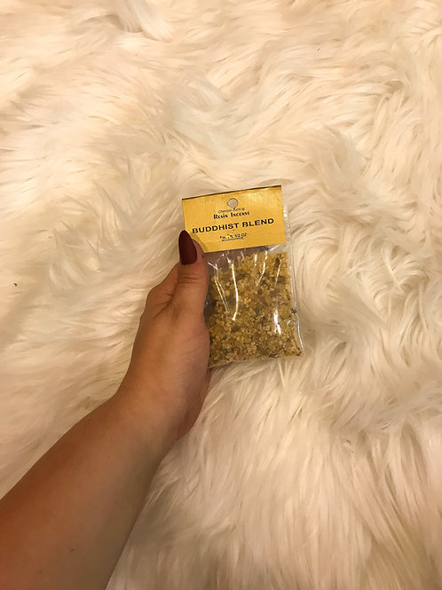 Buddhist Blend Resin Incense