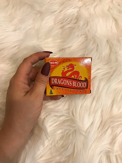Hem Cone Incense - Dragon's Blood