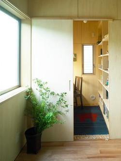 七里ケ浜の家07