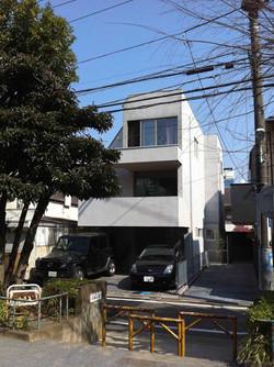 中目黒の家01