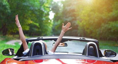 car ride freedom