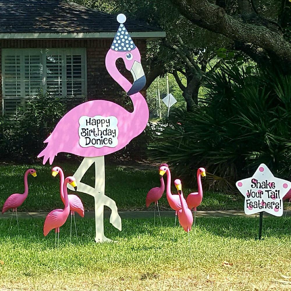 Florida Flamingo Flocking
