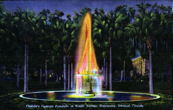 Flamingo Bungalow - Stetson University Fountain