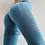 Thumbnail: Blue Cutout High Waist Leggings