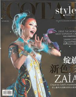 Rose Cotai Style Magazine Cover