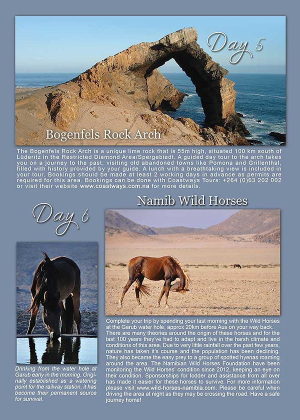 Bogenfels Rock Arch  | Accomodation Luderitz | Obelix Guesthouse | Things to do