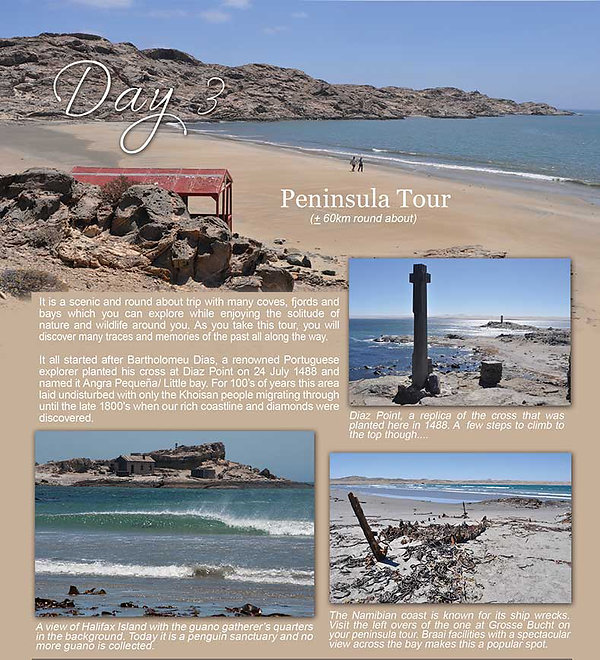 Luderitz Peninsula  | Accomodation Luderitz | Obelix Guesthouse | Things to do