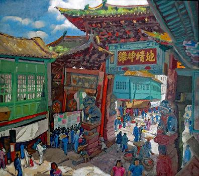 Gate at Yunnan Fou - Alix Ayme - 300 dpi