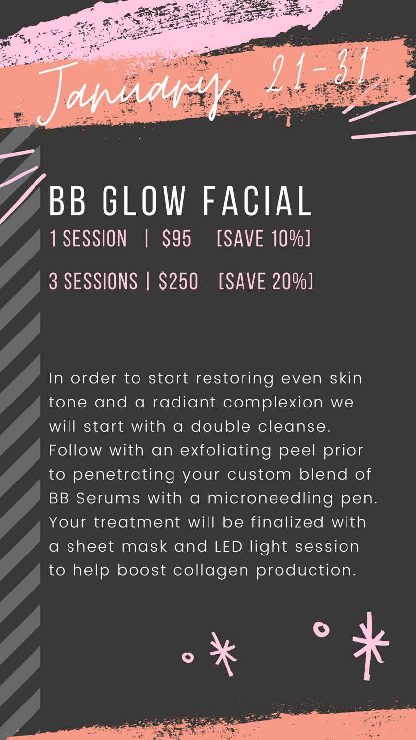 BB Glow Promotion -3 Sessions